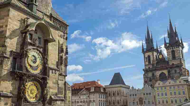 Main square in Prague.