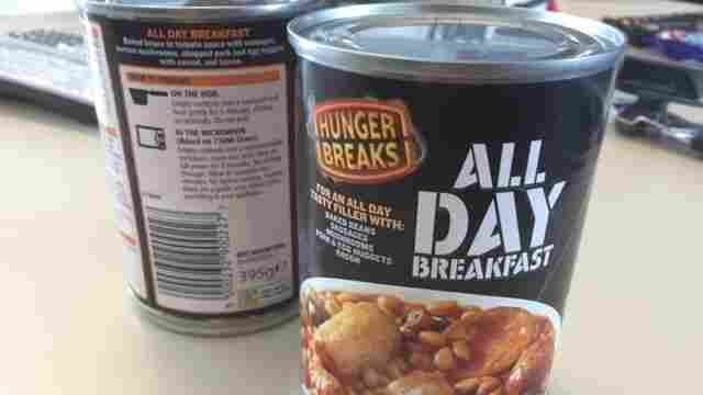 Sandwich Monday: Breakfast In A Tin