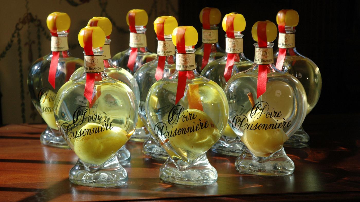 Clear Fruit Brandies Pack An Orchard Into A Bottle The Salt Npr