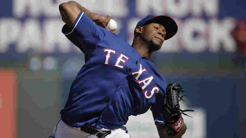 Texas Rangers relief pitcher Lisalverto Bonilla throws during the fifth inning of a spring training baseball game against the Kansas City Royals on March 4, in Surprise, Ariz. He is scheduled to undergo Tommy John surgery this week.