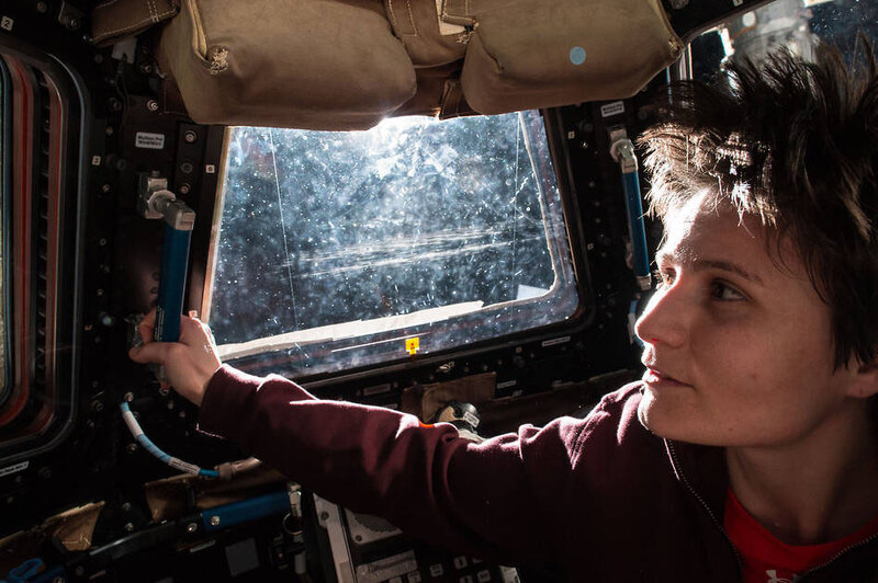 Italian astronaut Samantha Christoforetti sees the sun rise every 90 minutes on the International Space Station. But she can't get a decent cup of coffee to go with the view.
