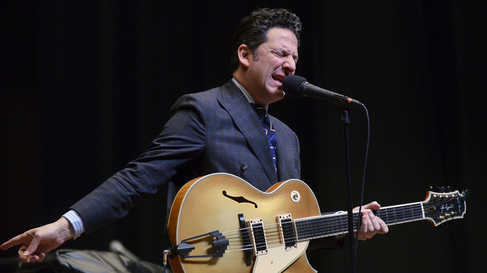 John Pizzarelli. (Mountain Stage)