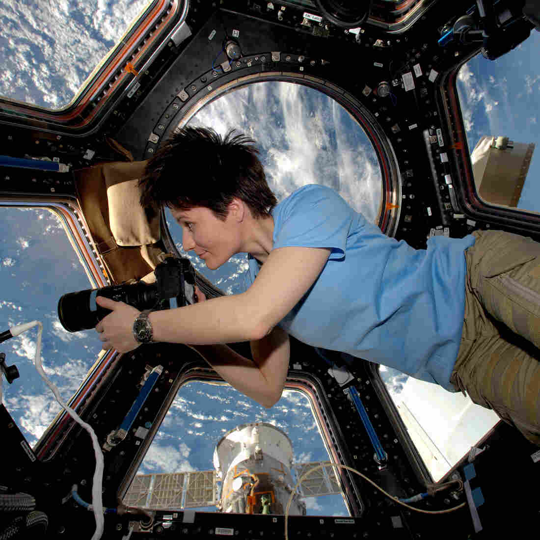The Space Station Gets A Coffee Bar