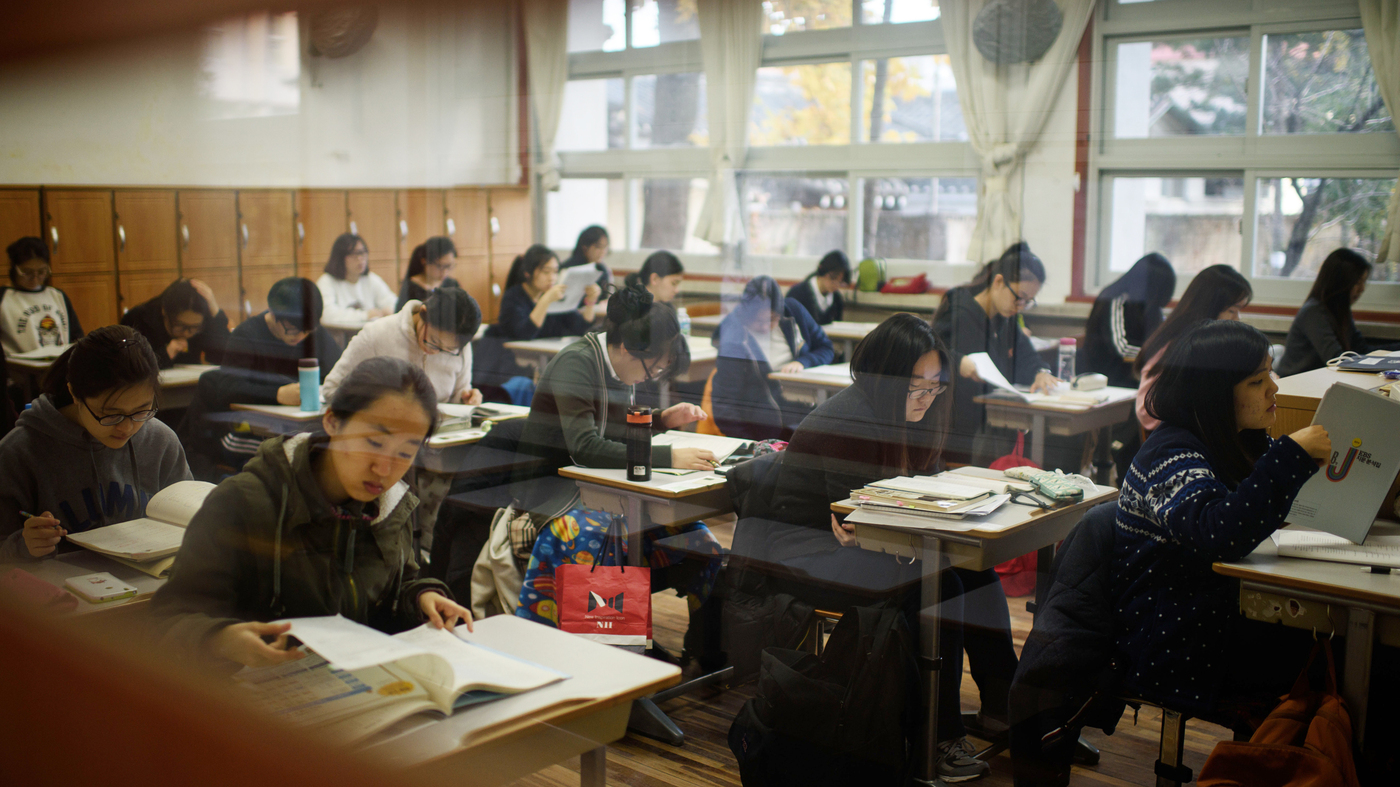 The All-Work, No-Play Culture Of South Korean Education ...