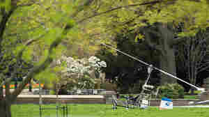 Postman Carrying Letters For Congress Lands On Capitol Grounds In A Gyrocopter