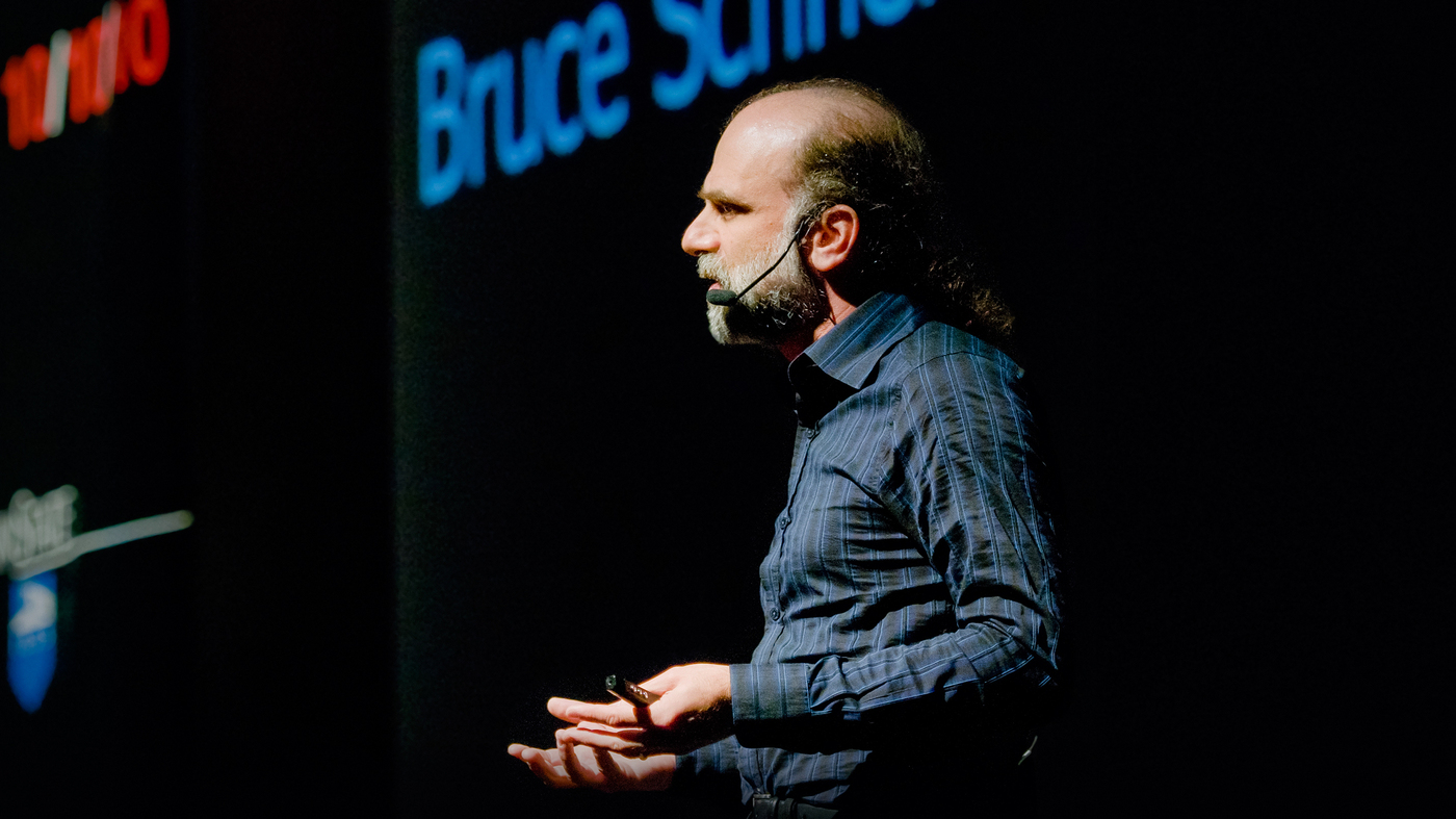 Bruce Schneier What Does It Take To Feel Secure Npr