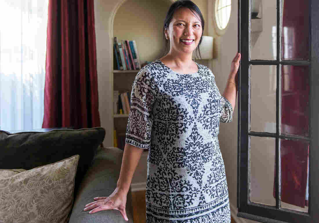 Catharine Becker of Fullerton, Calif., was diagnosed with stage 3 breast cancer at 43 despite having a clean mammogram. The mother of three didn't know she had dense breast tissue until after she was diagnosed.