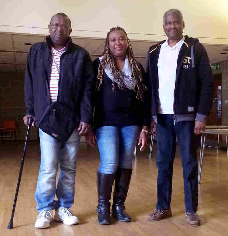 Chagossians, (from left) Louis Clifford Volfrin, Sabrina Jean and Bernard Nourrice, all would like the chance to return to Diego Garcia, the place they consider home.