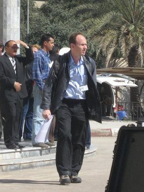 Image for An American Journalist Explains Why He Had To Flee Iraq