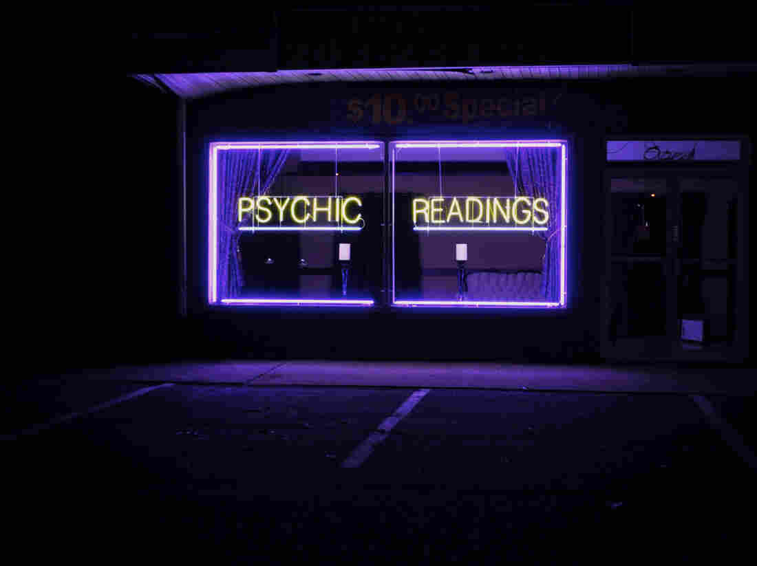 We went to a psychic.