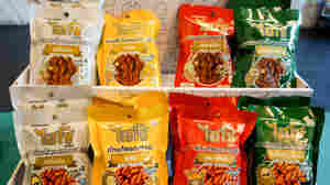 Street Food No More: Bug Snacks Move To Store Shelves In Thailand