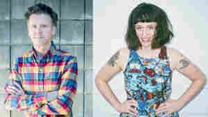 Superchunk frontman and Merge Records co-founder Mac McCaughan (left) will put out his first album under his own name next month. Katie Crutchfield just put out her third album as Waxahatchee on Merge.