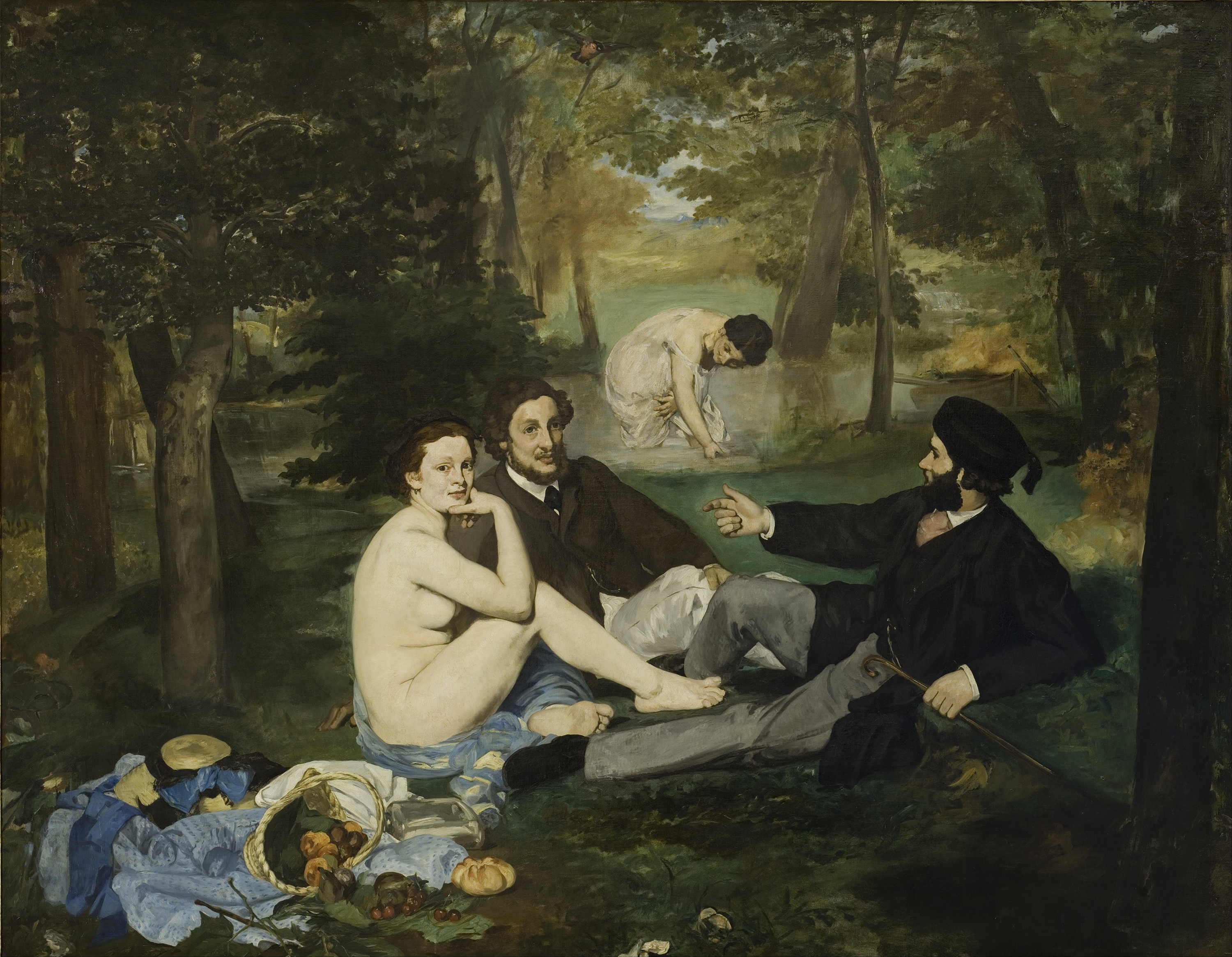 Sexy, Simple, Satirical: 300 Years Of Picnics In Art