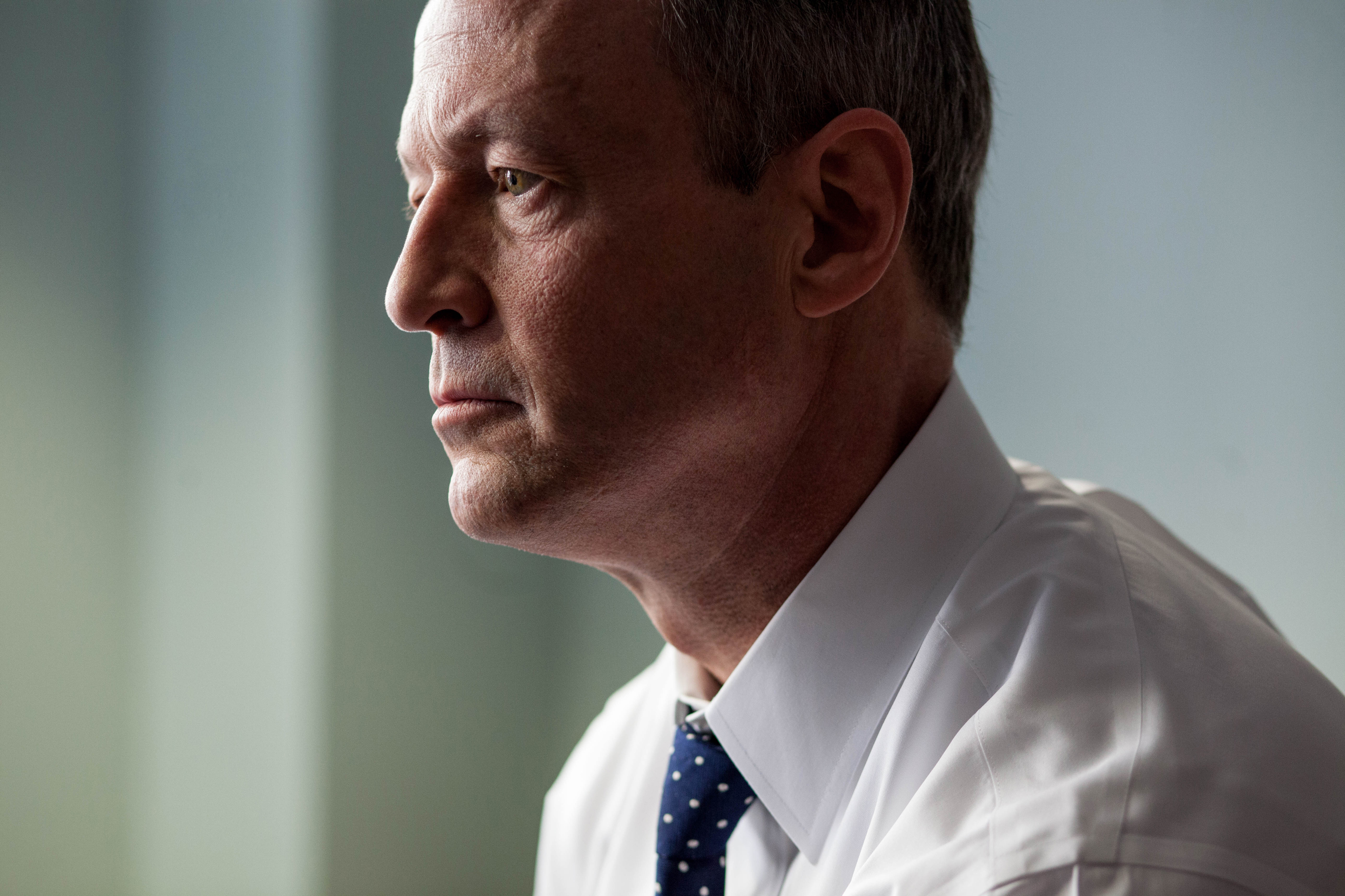 O'Malley, Possible Clinton Rival, Says A President Can't Let Polls Lead