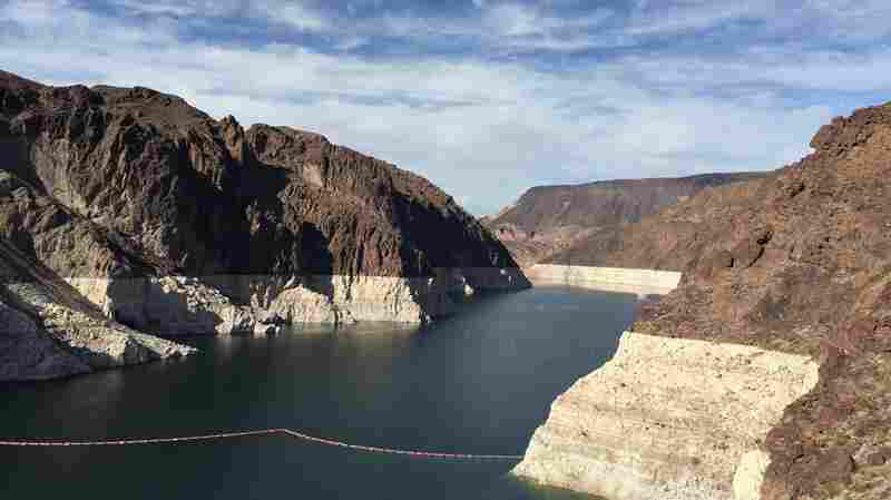 Lake Mead is at its lowest levels since it was built in the late 1930s.