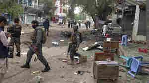 Suicide Attack Kills Dozens At Afghanistan Bank