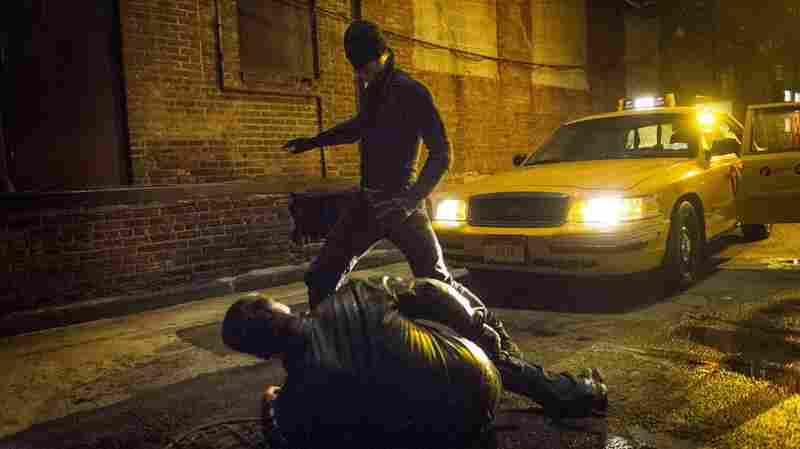Netflix's original series Daredevil, which stars a blind superhero, was originally hard for blind audience members to understand. The series was released without audio description that would make it accessible to the visually impaired. TV broadcasters are required to release such descriptions for some content, but Netflix, as an Internet streaming service, faces no such requirement.