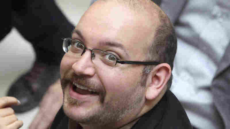 Jason Rezaian, an Iranian-American correspondent for the Washington Post, faces four serious charges, including espionage, according to his lawyer. He's shown in 2013.