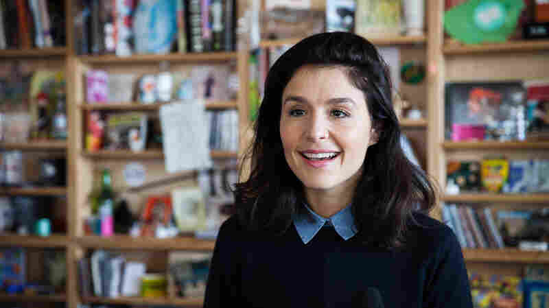 Tiny Desk Concert with Jessie Ware on March 31, 2015.