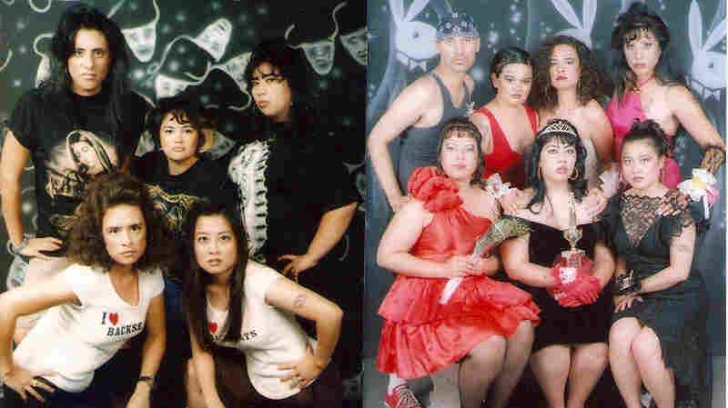 Homegirls-themed prom. Photos by C-Monster.