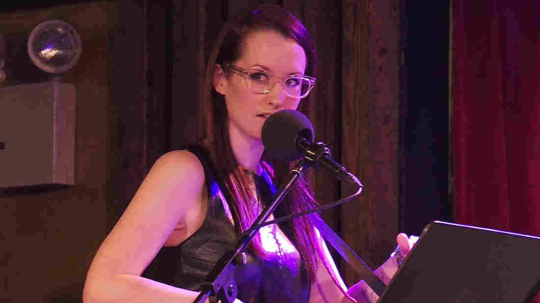 Ingrid Michaelson peforms on Ask Me Another at the Bell House in Brooklyn, New York.