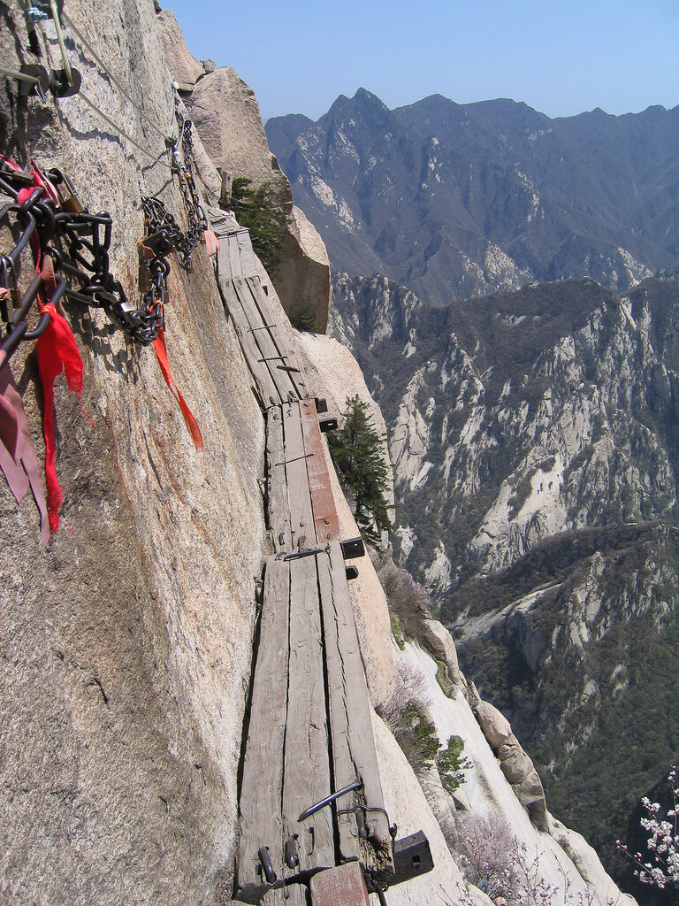 Tea Tuesdays Tao And Tourists Chinas Mount Hua Is Three Harmony Wire Harness Enlarge This Image