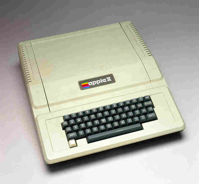 The Apple II, also known as the Apple ][, was introduced in 1977 and helped kick off the personal computer boom.