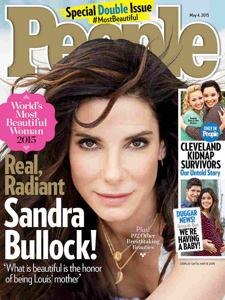The famous publication called Bullock the most beautiful woman in the world 04/22/2015