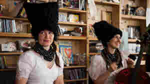 Tiny Desk Concert with DakhaBrakha on April 3, 2015.