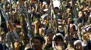 Saudi Airstrikes Target Houthi Forces In Yemen, Despite Talks Of Peace