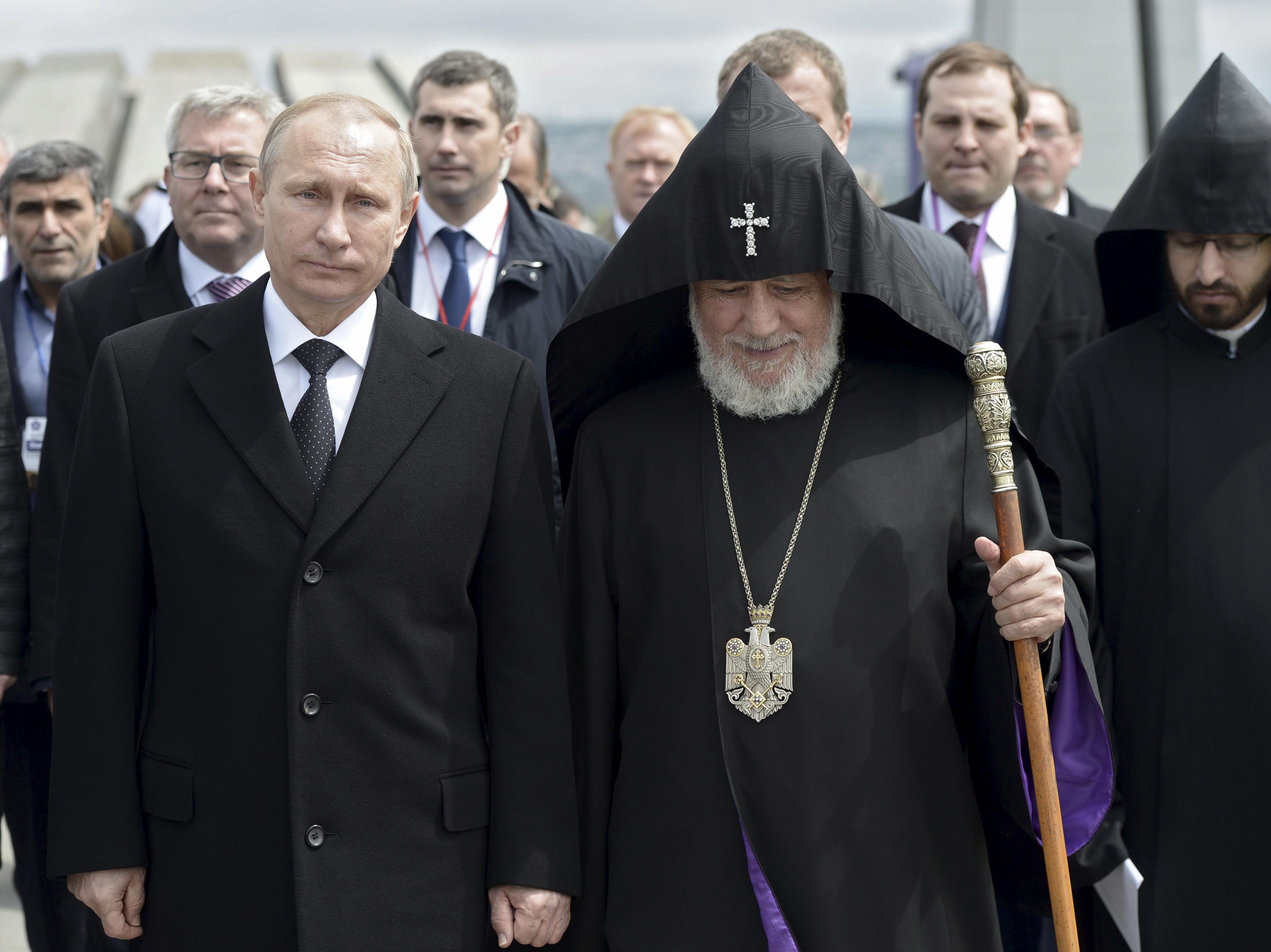 Armenians Mark A Century Since World War I Massacre
