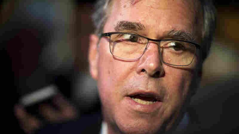 "Former Florida Gov. Jeb Bush's campaign dismissed the no-new taxes pledge as something ""circulated by lobbying groups"" and he says he ""will not sign."""