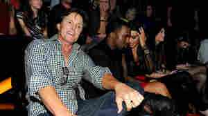 "From left, Bruce Jenner, Kanye West and Kim Kardashian attend FOX's ""The X Factor"" Season 2 Top 10 Live Performance Show on Nov. 21, 2012 in Hollywood, California."