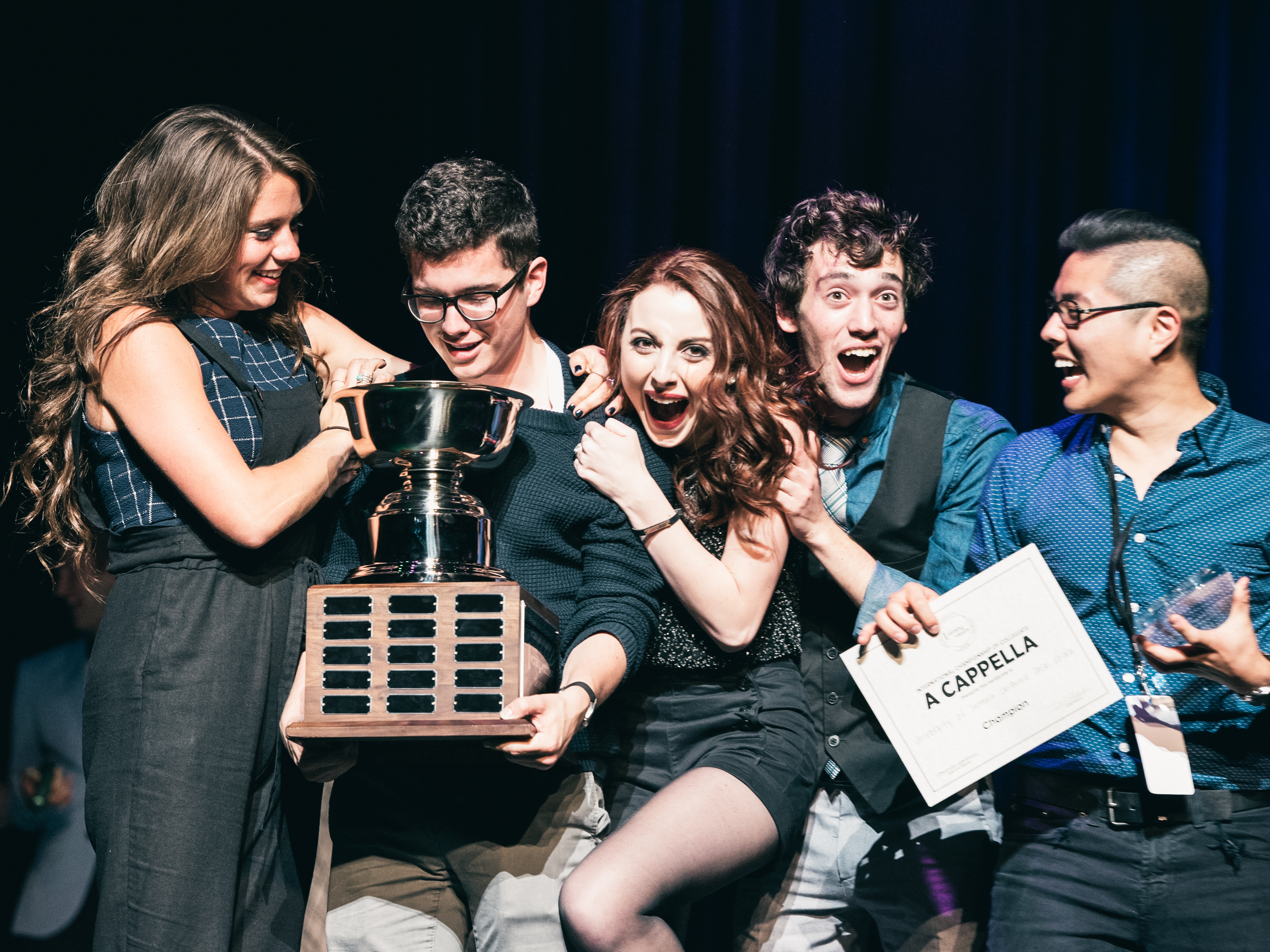 The Hard Work And Close Bonds Of Competitive College A Cappella