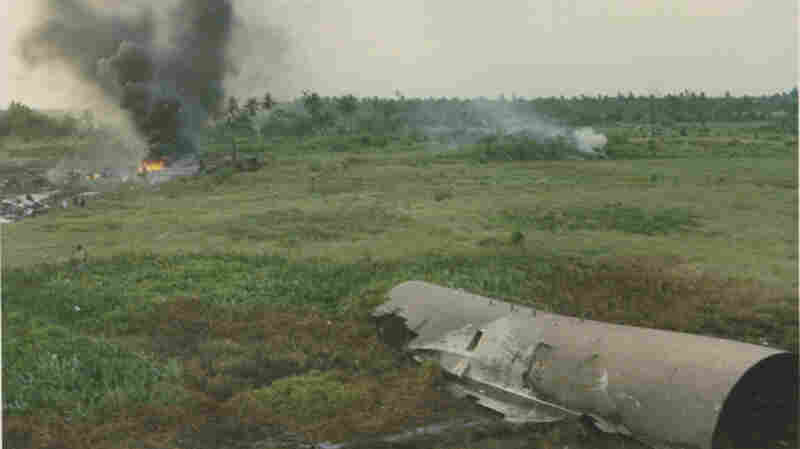 On April 4, 1975, a Lockheed C-5A Galaxy participating in Operation Babylift crashed on approach during an emergency landing at Tan Son Nhut Air Base, South Vietnam.