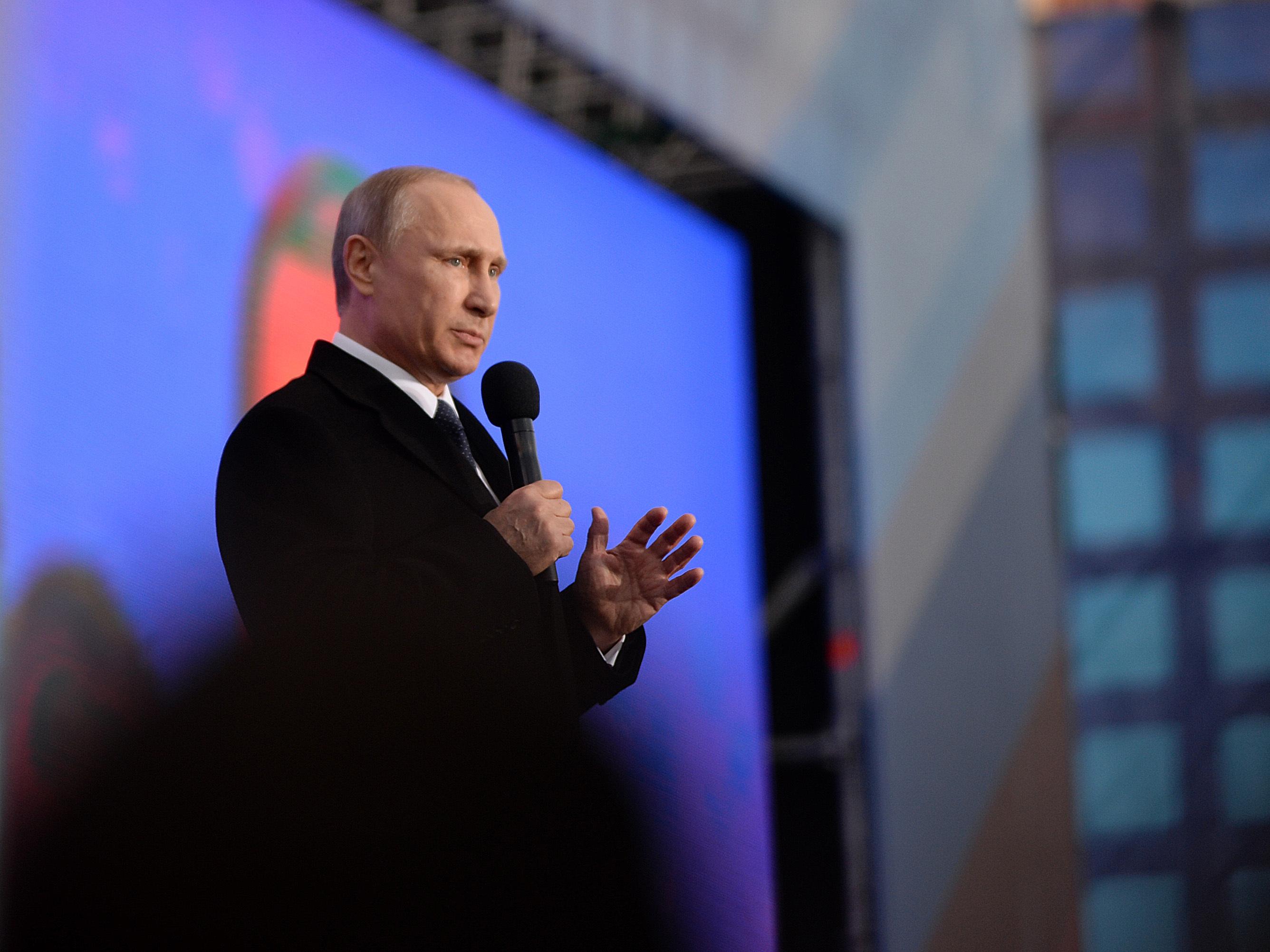Putin: 'No Regrets' Over Crimea Annexation