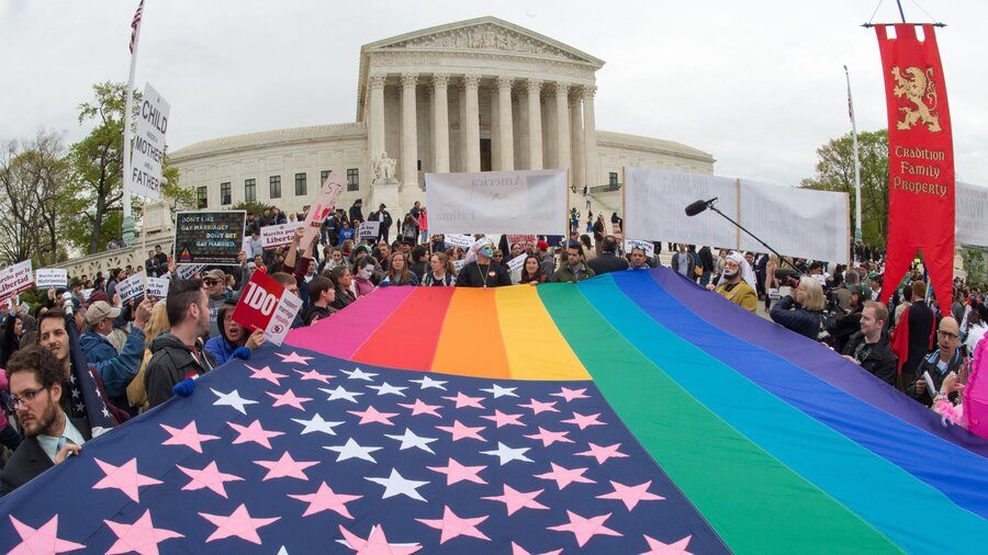 legal battle over gay marriage hits the supreme court tuesday  legal battle over gay marriage hits the supreme court tuesday