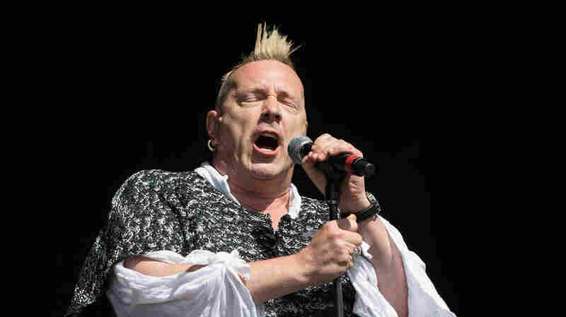 "John ""Johnny Rotten"" Lydon, seen here with his band Public Image Ltd at the 2013 Glastonbury Festival, is the former frontman of the Sex Pistols."