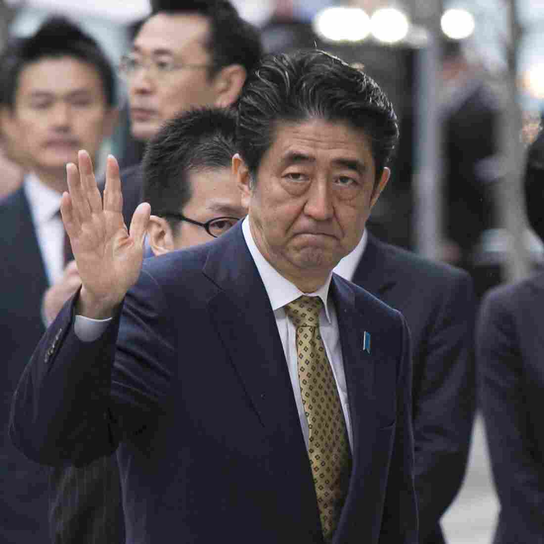 The Past Haunts The Present For Japan's Shinzo Abe
