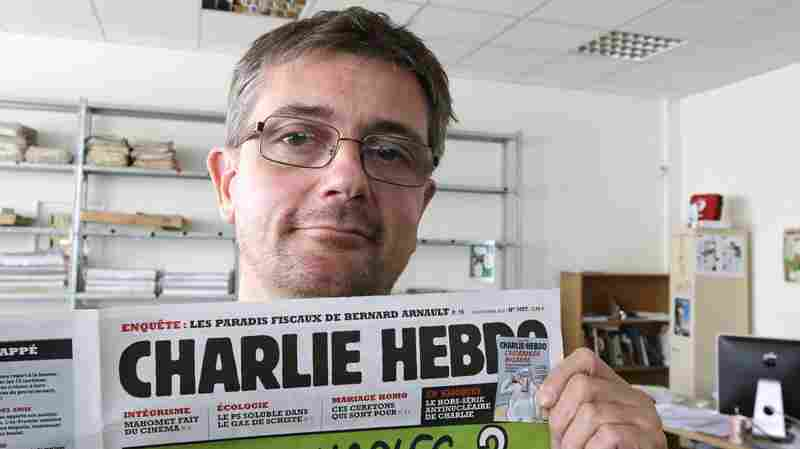 "Stephane ""Charb"" Charbonnier, the late editor of Charlie Hebdo, is seen in September 2012. PEN American Center's decision to give the French satirical magazine its annual Freedom of Expression Courage Award has prompted six writers to withdraw from the annual event."