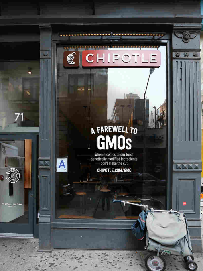 Fast-casual food chain Chipotle Mexican Grill pledged to remove all ingredients made with genetically modified organisms from its menu two years ago. It's now fulfilled that promise, although Chipotle still uses meat from animals that may feed on GMO corn or soybeans.