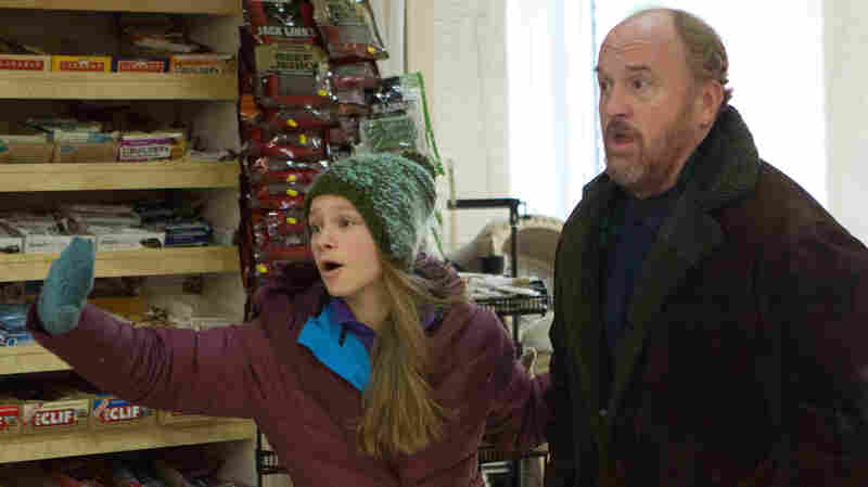 Louis C.K. plays the divorced father to Lilly (Hadley Delany) in the FX series Louie. The comic is also a divorced father to two girls.