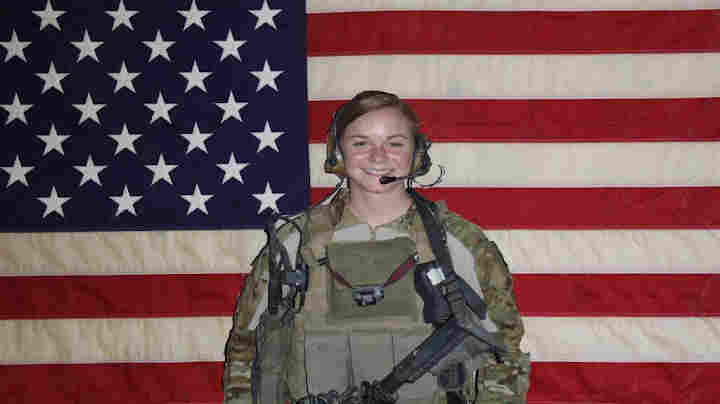 First Lt. Ashley White was one of the some 55 to 60 women selected for cultural support teams that deployed to Afghanistan in 2011.