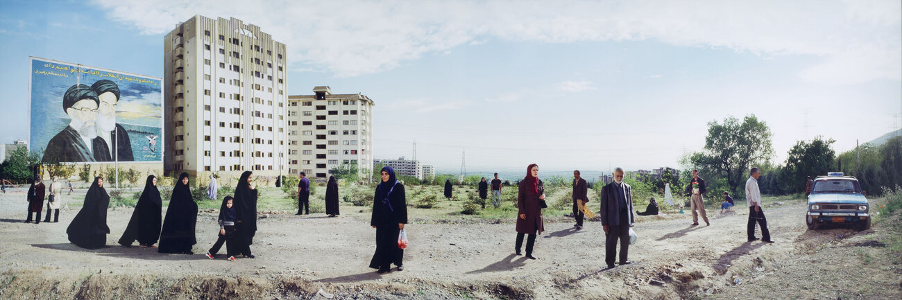 Click here to see a larger version of Mitra Tabrizian's Tehran 2006.