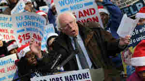 Seeking Presidency, 'Socialist' Sanders Looks To Elevate Less-Talked About Issues