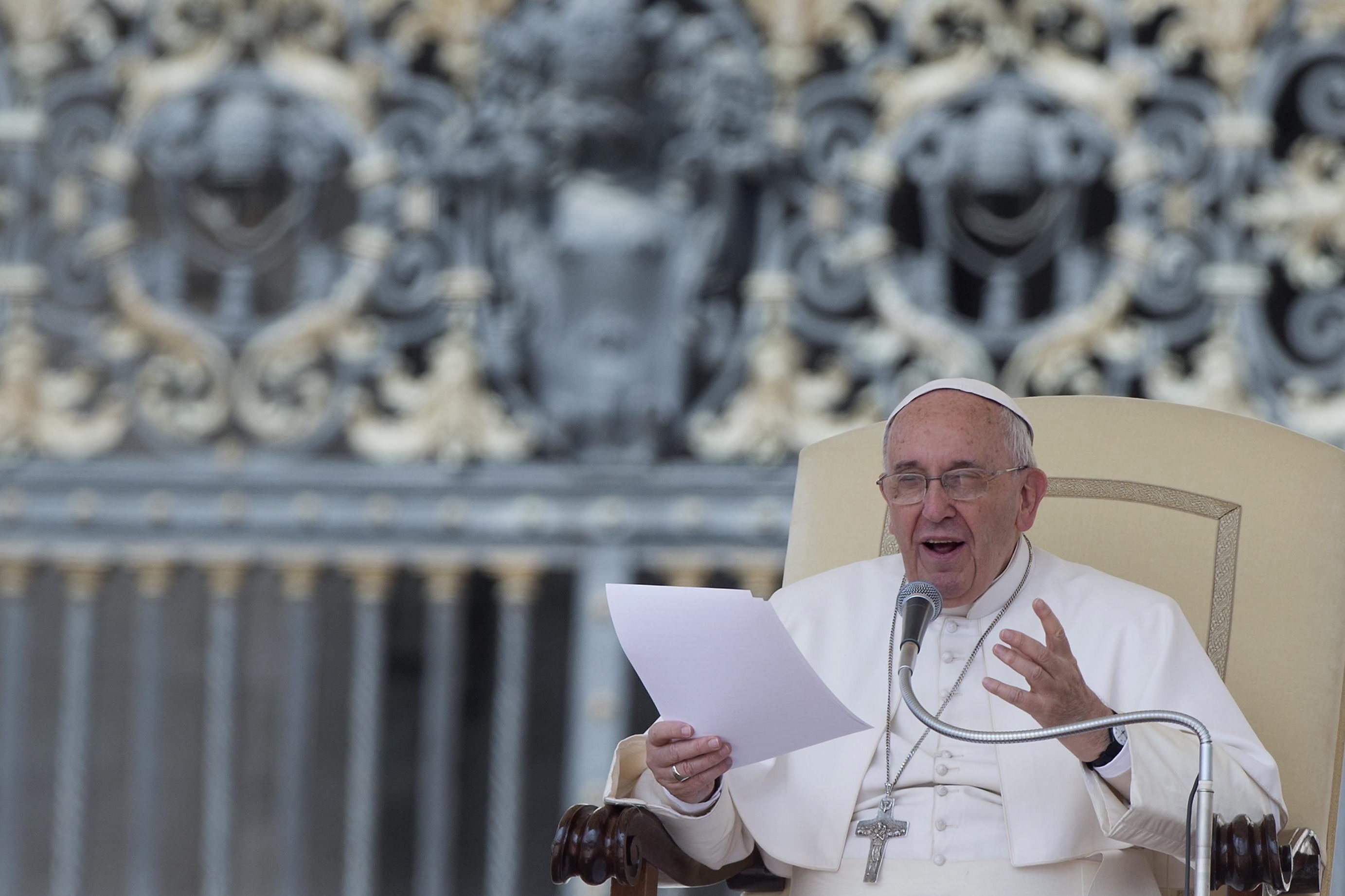 Pope Francis Calls Gender Pay Gap A 'Pure Scandal'