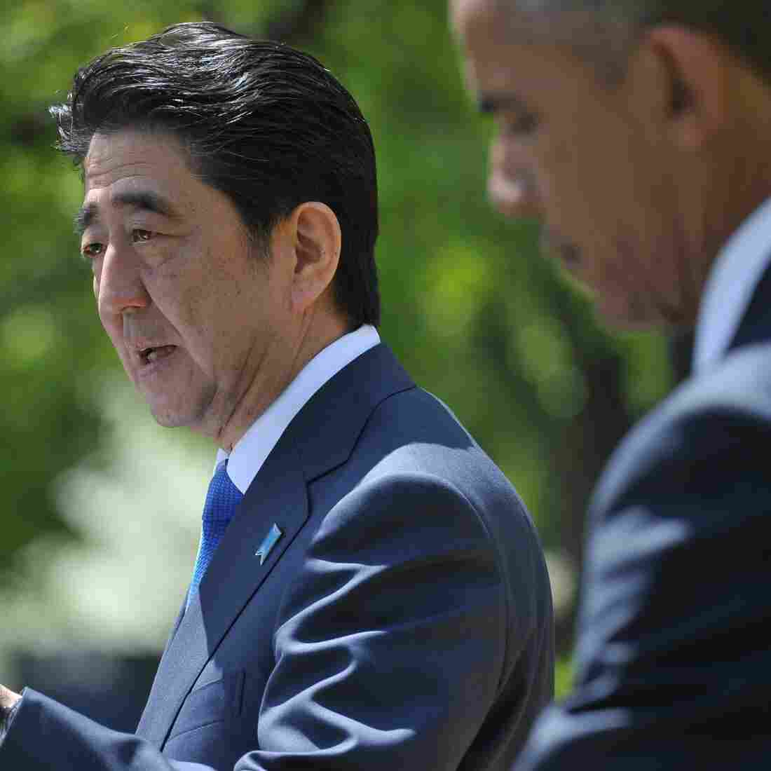 Japan's Abe Pushes The Pacific Trade Deal Onto Center Stage
