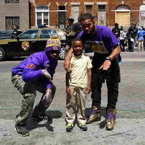 School Was Closed, But This Baltimore Dad Had An Amazing Lesson For His Son