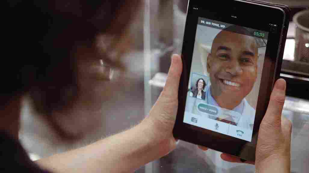 UnitedHealthcare says it will cover doctors' visits by live video on smartphones, tablets and computers.