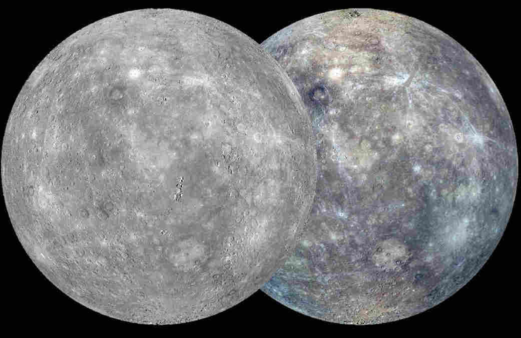 In 2013, Messenger finished imaging the entire surface of Mercury. This composite image was created from thousands of images.